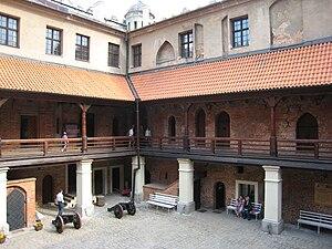 Golub-Dobrzyń - Image: Golub Dobrzyń castle, courtyard