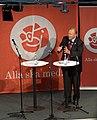 Goran persson swedish pm election rally 2006-sept-05 gothenburg speaking img3.jpg