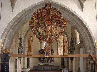 Öja Church - Image: Gotland Oeja kyrka 06