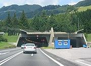 Gotthard Road Tunnel Switzerland