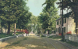 Kittery, Maine - Image: Government Street, Kittery, ME