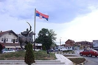 Gračanica, Kosovo Town and municipality in District of Pristina, Kosovo