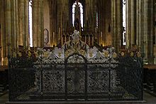 Grabmal des Kaisers Maximilians II. im Veitsdom auf der Prager Burg (Quelle: Wikimedia)