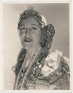 Grace Angelau American opera singer