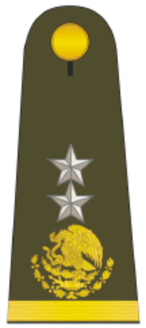 Army ranks and insignia of Mexico - Image: Gral brigada