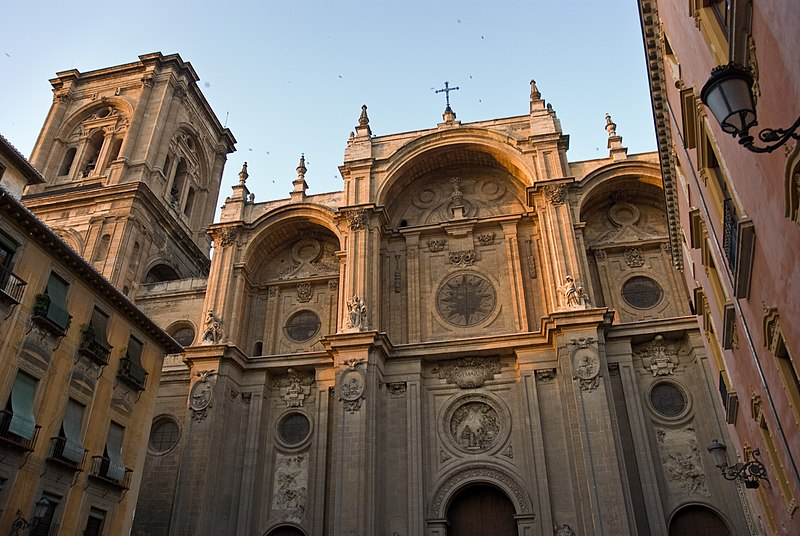 File:Granada cathedral - south portal.jpg