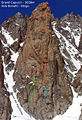Grand Capucin - East face - Bonatti-Ghigo route.jpg