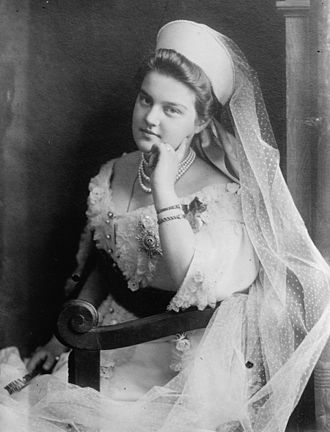 Grand Duchess Maria Pavlovna of Russia (1890–1958) - Grand Duchess Maria Pavlovna wearing the traditional dress of ladies of the Russian Imperial court