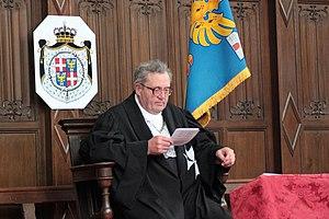 Fra' Matthew Festing, the Grand Master of the ...