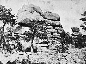 Laramie Mountains - Laramie Mountains, c. 1869