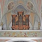 Grassau Pfarrkirche Orgelempore.jpg