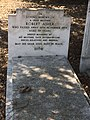 Grave of film director Robert Asher at New Southgate Cemetery in north London.jpg