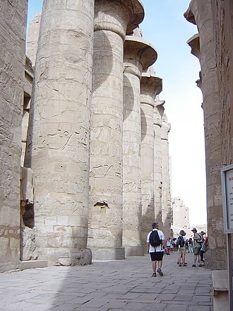 Hypostyle - The Great Hypostyle Hall of the Temple of Karnak, Egypt