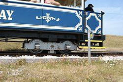 Great Orme Tramway Car Bogie 2013-07-14.jpg