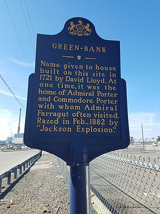 David Lloyd (judge) - Green Bank Pennsylvania Historical Marker