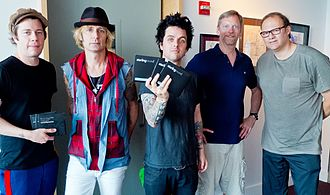 Ted Jensen discography - Green Day (minus Tre) with Ted Jensen and Rob Cavallo