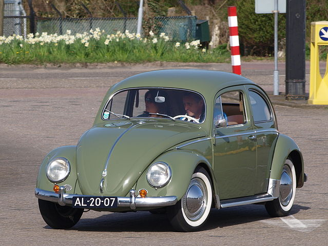Px Green Volkswagen Beetle C Dutch Registration Al Pic on volkswagen beetle bug car