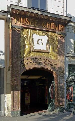 Musée Grévin - Facade of the Musée Grévin.