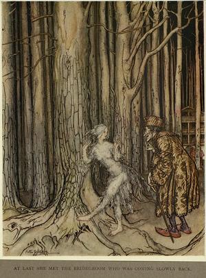 Fitcher's Bird - Arthur Rackham, 1917