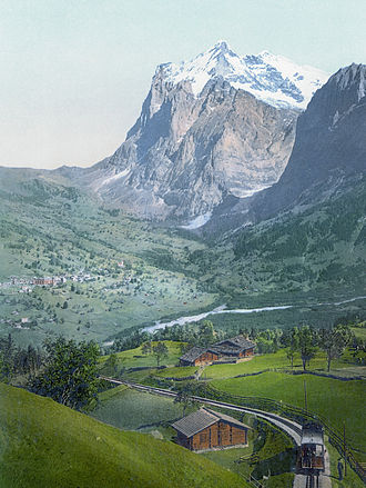 Grindelwald - Photochrom of Grindelwald between 1890 and 1905.