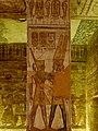 Großer Tempel (Abu Simbel) Kleine Pfeilerhalle 12.jpg