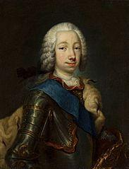 Portret Wielkiego Księcia Piotra Fiodorowicza (późniejszego cara Piotra III-go)