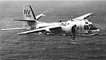 Grumman S-2D Tracker of VS-35 in flight, circa in 1965.jpg