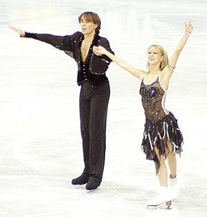 Elena Grushina - Grushina and Goncharov in 2004.