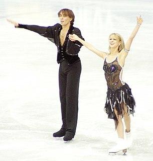 Elena Grushina Ukrainian ice dancer
