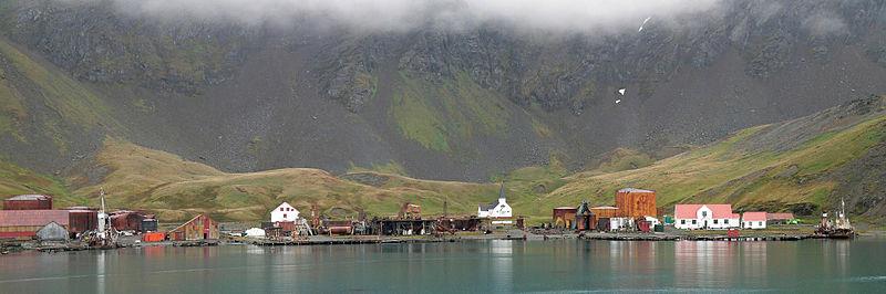 Grytviken village - looks abandoned