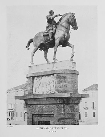 Памятник Гаттамелате