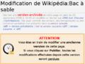 Guide de Wikipédia - 3.FP7.02 annuler modifier version archivée.png