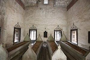 "Gülruh Hatun - The tomb of ""Gülruh Hatun"" is located inside Gülruh Hatun Mausoleum Bursa"