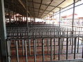 Guruvayur Temple Quee line row bars.JPG