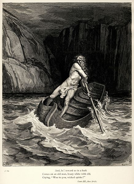 File:Gustave Doré - Dante Alighieri - Inferno - Plate 9 (Canto III - Charon).jpg