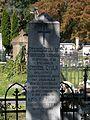 Gyula Stessel (1843-1919) economist in Grőber cemetery, Eger, 2016 Hungary.jpg