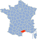 Situation de l'Hérault