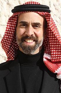 H.R.H. Prince Ghazi bin Muhammad with Shmagh Smiling 13.12.11.jpg