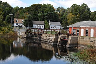 Hallville Mill Historic District - Image: HALLVILLE MILL HISTORIC DISTRICT, PRESTON, NEW LONDON COUNTY