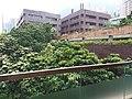 HKU 香港大學 syp MTR tower view 薄扶林道 Pok fu lam Road campus 校園 MTR Station Lift Tower April 2019 SSG 02.jpg
