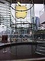 HK 中環 Central 國際金融中心商場 IFC Mall shop 蘋果店 Apple Store 玻璃 glass 樓梯 stairs January 2020 SSG.jpg