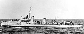Convoy ON 127 - HMCS Ottawa