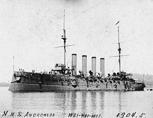 HMS Andromeda (1897) - Image: HMS Andromeda (1897)