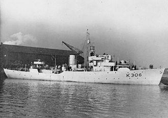 HMIS Assam (K306) - Image: HMS Bugloss FL4212