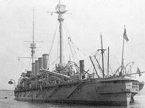 Ernest Troubridge - Image: HMS Defence 1907