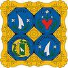 Huy hiệu của Egyházasfalu