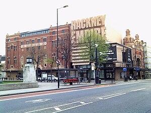 Mare Street - Image: Hackney Empire, Mare Street
