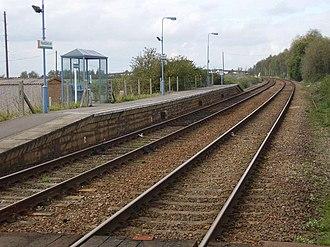 Haddiscoe railway station - Image: Haddiscoe Railway Station