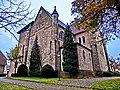 Hagen-Natrup, Kath. Kirche Mariä Himmelfahrt Gellenbeck Die in den Jahren 1913 - 1915 im neoromanischen Baustil errichtet wurde. - panoramio.jpg