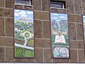 Hall Green Library - Lord of the Rings mural (6359685429).jpg